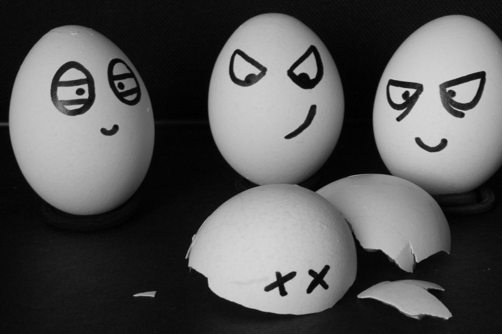 angry, eggs, unhappy